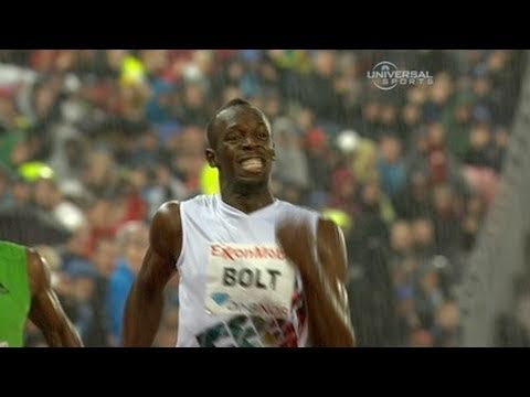 Usain Bolt wins 200m in Oslo Diamond League 2011