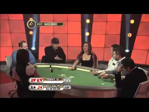 Wicked Angle Shoot and trash Talk(Tony G) (Phil Hellmuth)