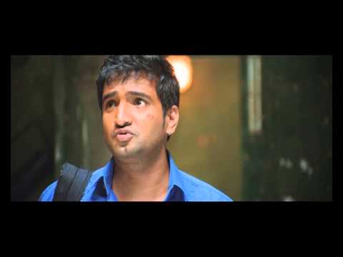 Tamil Movie Settai Comedy Scene - Nakki  the new room mate -...