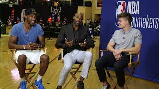 Vince Carter Talks About Jr NBA World Championships | NBA Playmakers