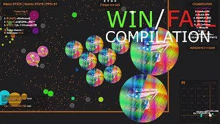 Agar.io - Win / Fail Compilation #2 + DUO Take Over (W/LofGame)