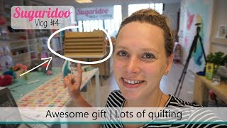 Lots of sewing and an awesome gift | Sugaridoo Vlog 4