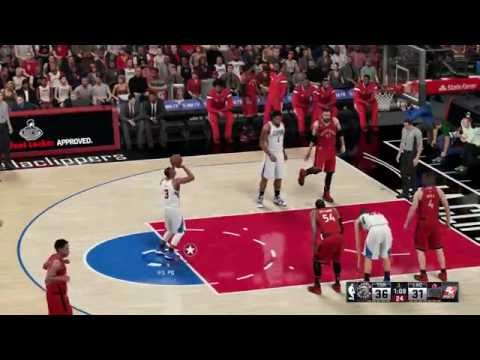 Toronto Raptors vs  L. A. Clippers (NBA2k16)