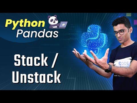 Python Pandas Tutorial 12. Stack Unstack