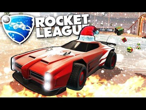 Rocket League - Футбольный хоккей (НОВОГОДНЯЯ ОБНОВА)