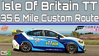 Isle Of Britain TT - Time Attack Subaru WRX STi - Custom Route Forza Horizon 4