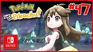 WOW! GREEN GEEFT ONS EEN FANTASTISCH KADO! | #47 Pokemon Let's Go Pikachu | Rickachu