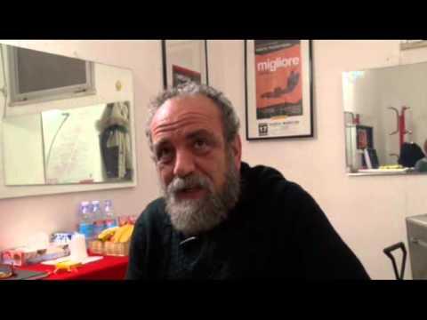 Silvia Galassi intervista Giobbe Covatta – 18 GEN 2013 – Savignano – Teatro Moderno