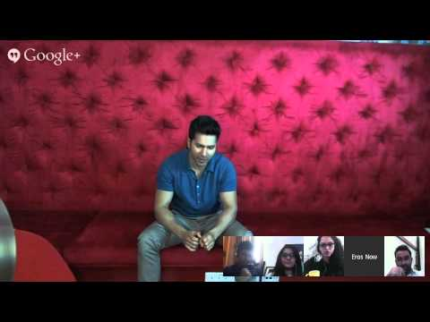 Hangout With Varun Dhawan | Varun Interacts With His Fans On YouTube