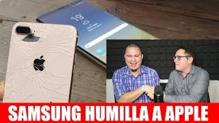 Samsung HUMILLA a Apple ft. MarcianoPhone