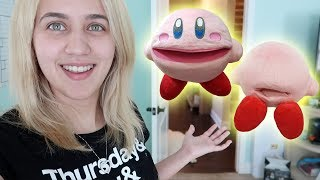 BOUGHT A NEW SML KIRBY PUPPET!!