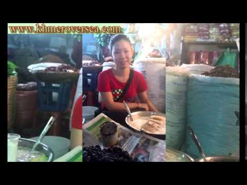 Cambodia Khmer Phnom Penh News Today Cambodian Girl Sale Food video