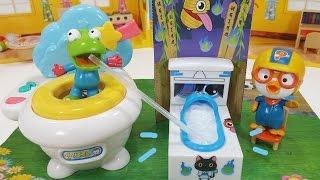 모코 모코 모코렛 좌변기 음료수 화오 - 안돼 ! 그건 변기가 아니라 캔디 음료라구 뽀로로 장난감 Moco Moco Mocolet Wao! Weird Toilet Candy