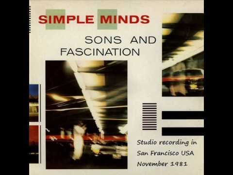 Simple Minds - Sons & Fascination live Studio Recording in San Francisco USA November 1981