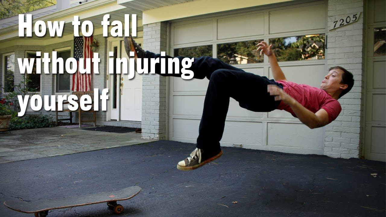 how to not fall off a skateboard