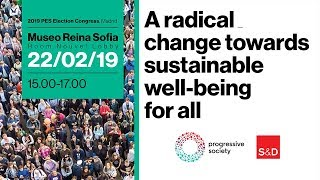 Progressive Society - A radical change towards sustainable well-being for all