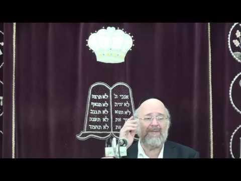 הרב ברוך רוזנבלום - פרשת חקת תשע״ז