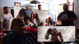 Marvel's AVENGERS: INFINITY WAR TRAILER 2 (Palauan Reaction)