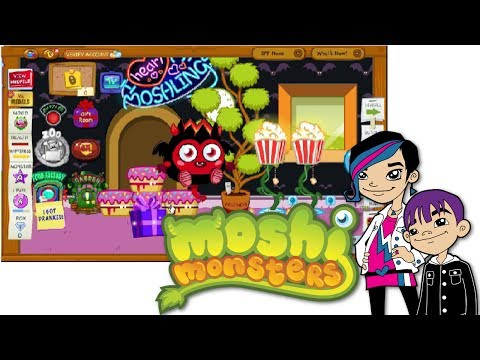 Moshi Monsters Game Play with Auto EP1