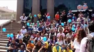 جولة جو بايك من أمام برج القاهرة لمرضى التوحد