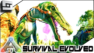 ARK: Survival Evolved - BARYONYX TAMING! S4E58 ( The Center Map Gameplay )