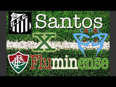 Santos x Fluminense AO VIVO Campeonato Brasileiro 30º Rodada (22-10-2014) [CanalJGEsportes]
