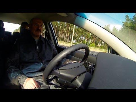 Лукашенко лично протестировал новые автомобили Geely