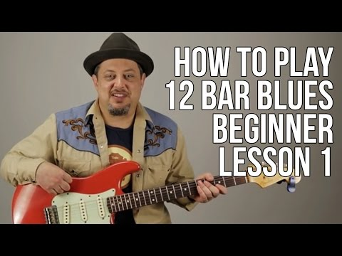 How To Play 12 Bar Blues For Absolute Super Beginner Guitar Lesson Blues Guitar Lessons