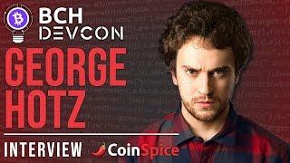 George Hotz interview - BCH DEVCON San Francisco 2018
