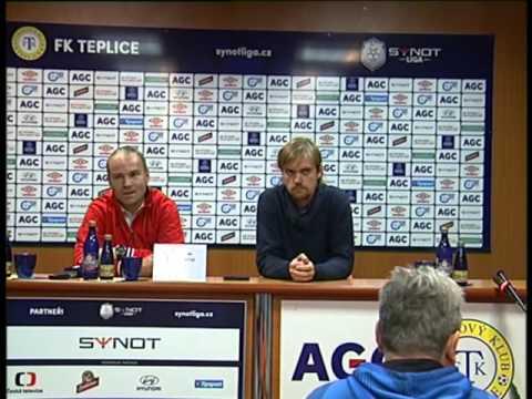 Tisková konference hostujícího trenéra po zápase s Baníkem Ostrava (26.9.2015)