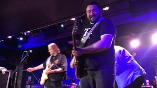 Walter Trout Wsg The Nimmo Brothers Gonna Hurt Like Hell Oran Mor Glasgow 28 11 2018