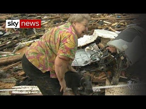 Oklahoma Tornado: Dog Emerges From Debris