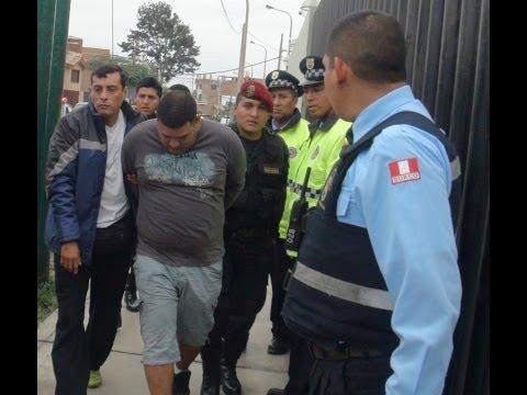 Impresionante Captura de Serenazgo de Surco en Conjunto con la Policia