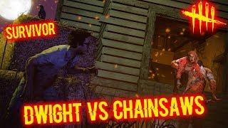 DWIGHT VS CHAINSAWS - Survivor - Dead By Daylight