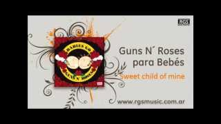 Guns N´ Roses para Bebés - Sweet child of mine