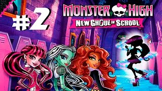 Прохождение Monster High New Ghoul in School #2