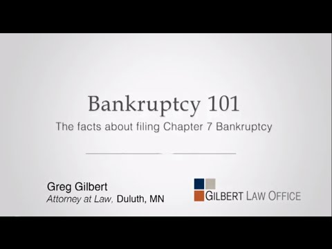 Chapter 7 Bankruptcy: How to file and the bankruptcy process
