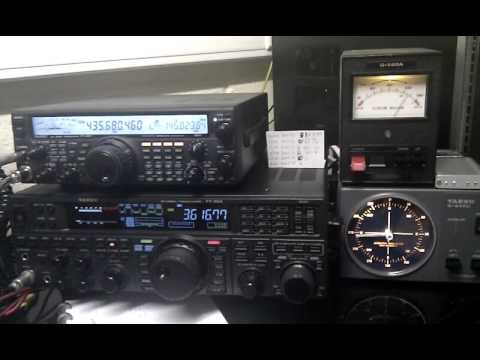 HO-68 ham radio satellite reception