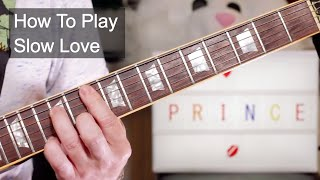 Watch Prince Slow Love video