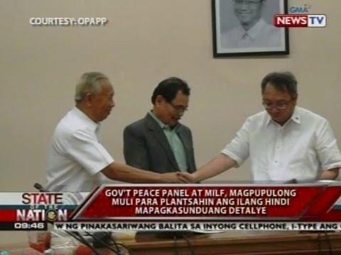 SONA: Draft ng Bangsamoro basic law, planong isumite sa kongreso sa Agosto