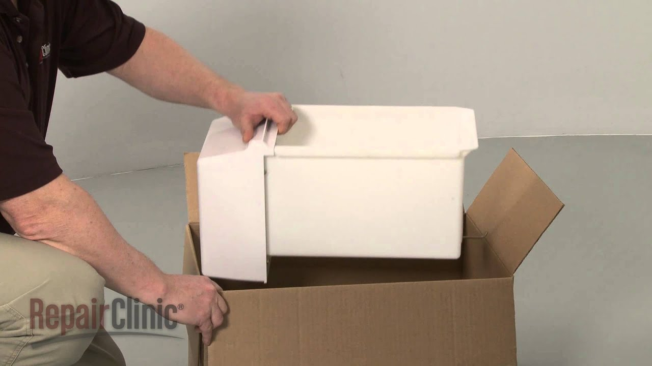 Fridge Ice Bucket Assembly Replacement Whirlpool