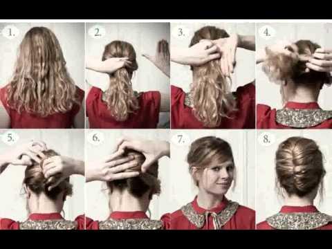 Como Hacer Recogidos Con Pelo Rizado -  peinado