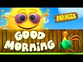 Good Morning Song  Nursery Rhymes  Kids Songs  Baby Rhymes  Childrens Musicas by Farmees S02E44
