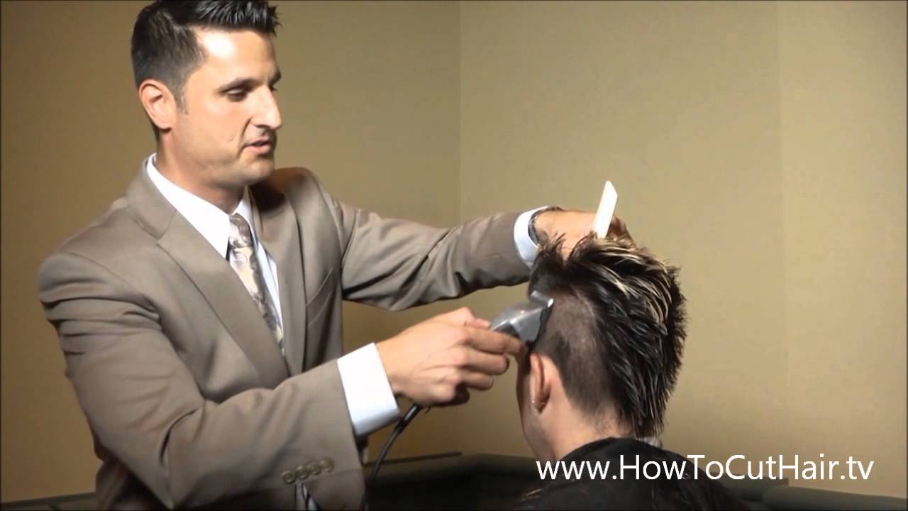 Mohawk Hairstyle Part 4 Fading Tapering Blending With Clippers Youtube