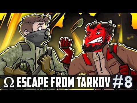GRENADIER HATCHETEERS ON CUSTOMS!   Escape From Tarkov #8 Multiplayer Ft. Cartoonz (Closed Beta)