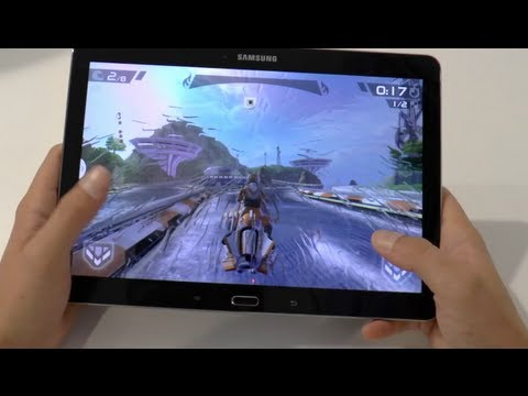 Samsung Galaxy Note 10.1 2014 Edition: Ausführliches Hands-On und Gaming-Check