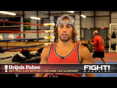 Urijah Faber on his MMA Combine Dominick Cruz  Yuri Alcantara