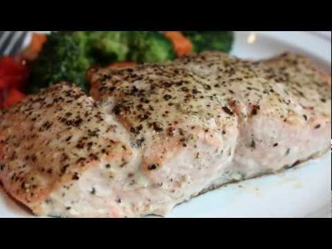 Baked Lemon Pepper Salmon Recipe