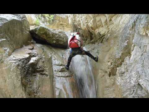 Canyoning - Servia  &Icirc;&pound;&Icirc;&micro;&Iuml;&Icirc;&sup2;&Icirc;&macr;&Iuml;&Icirc;&frac12; (Hellas, Greece, Pieria Mountain) 2010