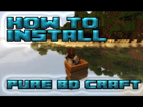 Minecraft how to install PureBDcraft texturepack for minecraft 1.6.4